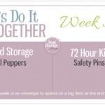 Let's Do It Together Thursday-Week #30-Bell Peppers & Safety Pins