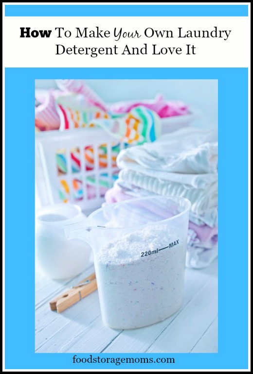 How To Make Your Own Laundry Detergent And Love It