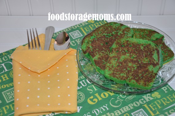 St. Patrick's Day-Green French Toast