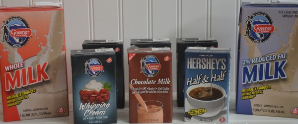 Gossner Dairy Products That Are Shelf Stable Food