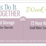 Let's Do It Together Thursday-Week #42-Water Barrels & Small Water Containers