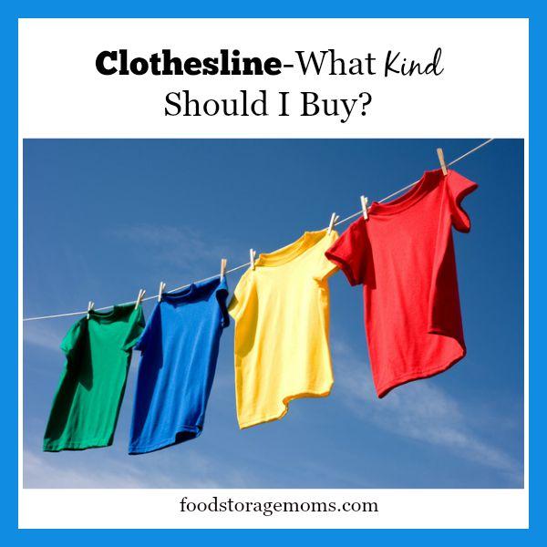 Clothesline-What Kind Should I Buy?   By FoodStorageMoms.com