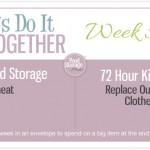 Let's Do It Together Thursday Week #51-Wheat And Rotate Outgrown Clothes