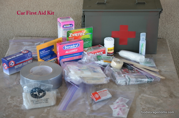 First Aid Kit In Ammo Box For Your Car Or Truck | via ww.foodstoragemoms.com