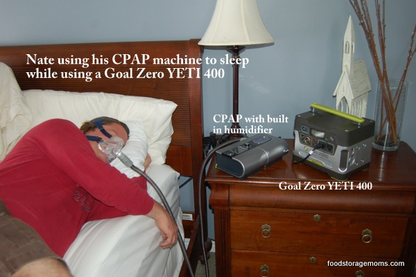 water for sleep apnea machine