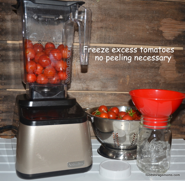 One Easy Way To Store Tomatoes Without Having To Peel Them