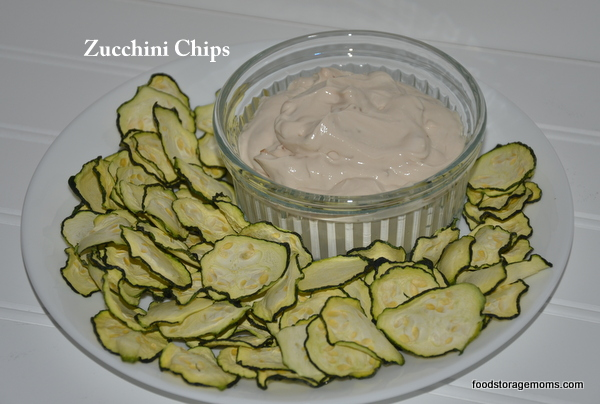 Make Zucchini Chips In Your Excalibur Dehydrator