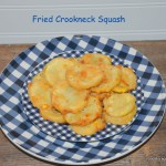 Fried Crookneck Squash