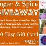 Sugar & Spice Etsy Giveaway Event