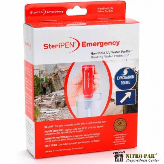 Steripen Emergency Water