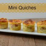 How to Make Mini Quiches