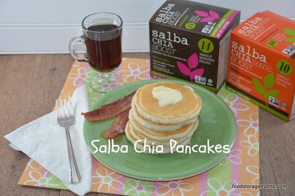 Salba Chia Pancakes