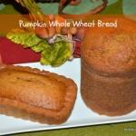 Easy Whole Wheat Pumpkin Bread Recipe