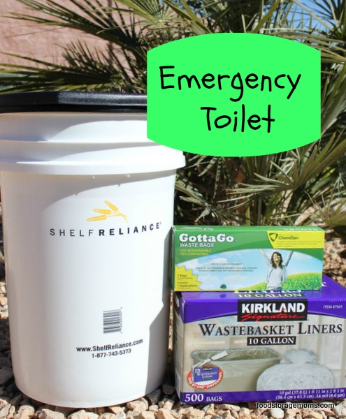 Emergency Preparedness Toilets