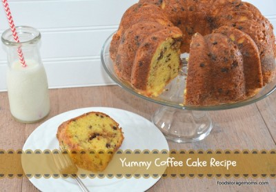 Yummy Coffee Cake Recipe by FoodStorageMoms