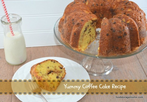 Yummy Coffee Cake Recipe