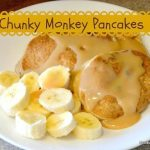 Chunky Monkey Pancakes For Breakfast Any Day