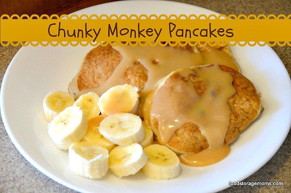 Make Chunky Monkey Pancakes