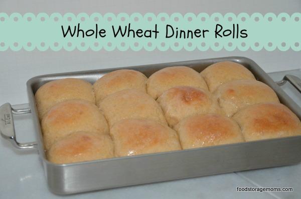 Whole Wheat Dinner Rolls – Food Storage Moms