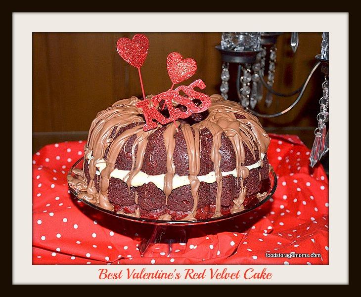 Best Valentines Day Red Velvet Cake