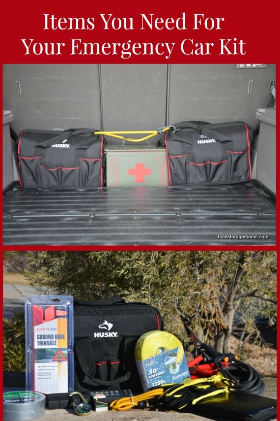 Emergency Car Kit Items You Need Today   via www.foodstoragemoms.com