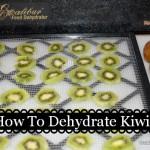 How To Dehydrate Kiwi