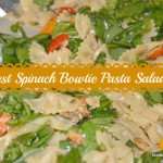 Best Spinach Bowtie Pasta Salad