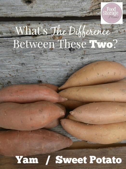 Yams Versus Sweet Potatoes