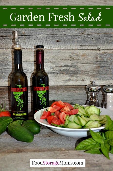 Healthy Garden Fresh Salad