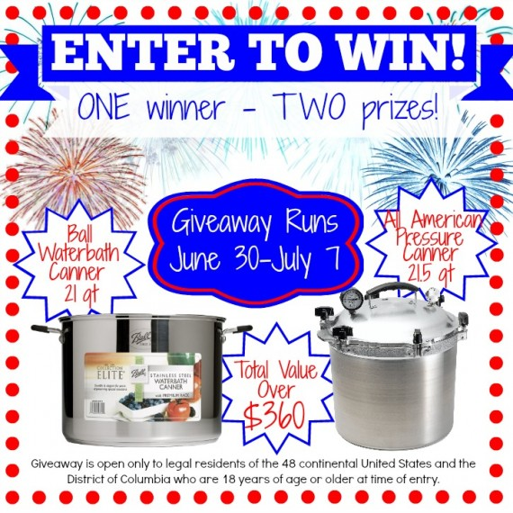 Home Canning And Preserving Giveaway (via Survival at Home)