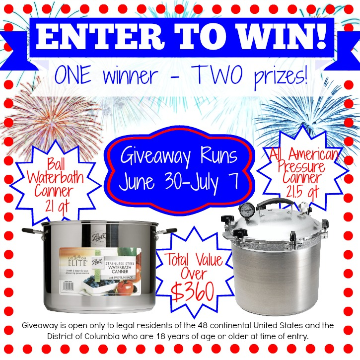 Home canning and preserving giveaway for New home giveaway