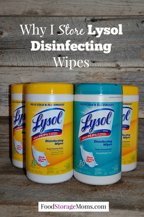 Why I Store Lysol Disinfecting Wipes