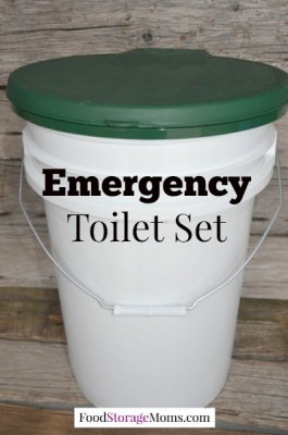 You May Need An Emergency Toilet Set