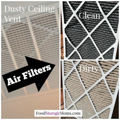 how often to change air filters food storage momsfood storage moms. Black Bedroom Furniture Sets. Home Design Ideas