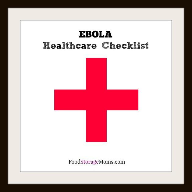 EBOLA Healthcare Checklist Everyone Needs