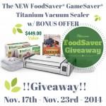 GameSaver Titanium Giveaway