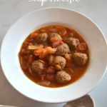 Slow Cooker Mexican Soup Recipe aka Albondigas Soup