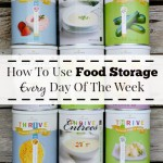 How To Use Food Storage Every Day Of The Week