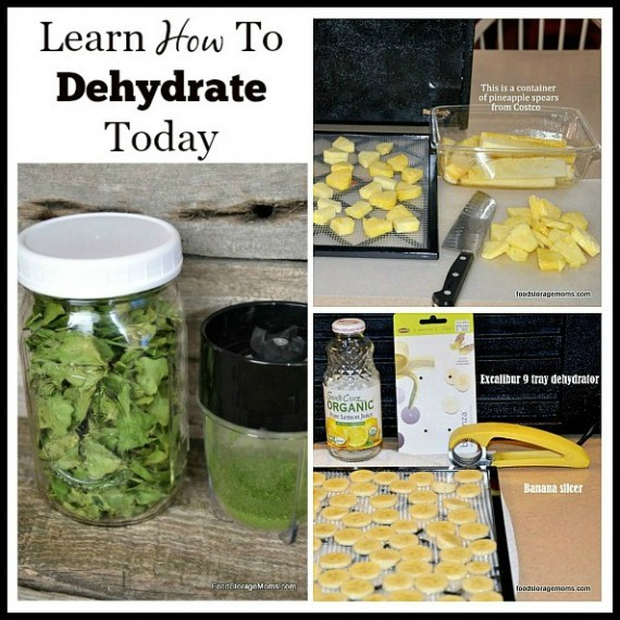 How To Dehydrate Food To Make Healthy Snacks| via www.foodstoragemoms.com