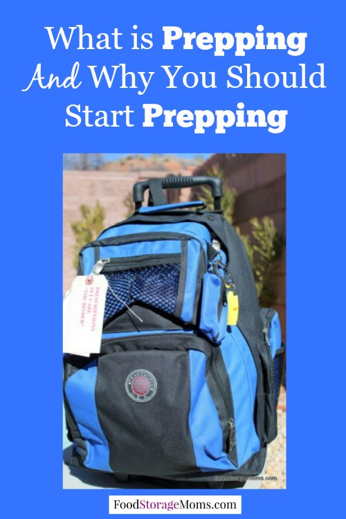 What is Prepping And Why You Should Start Prepping | via www.foodstoragemoms.com