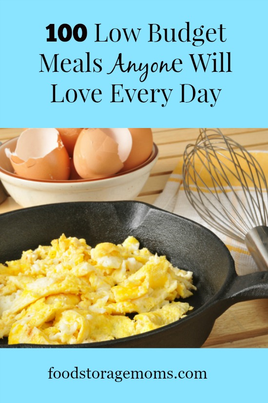 100 Low Budget Meals Anyone Will Love Every Day