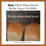 Easy Whole Wheat Bread Recipe Anyone Can Make