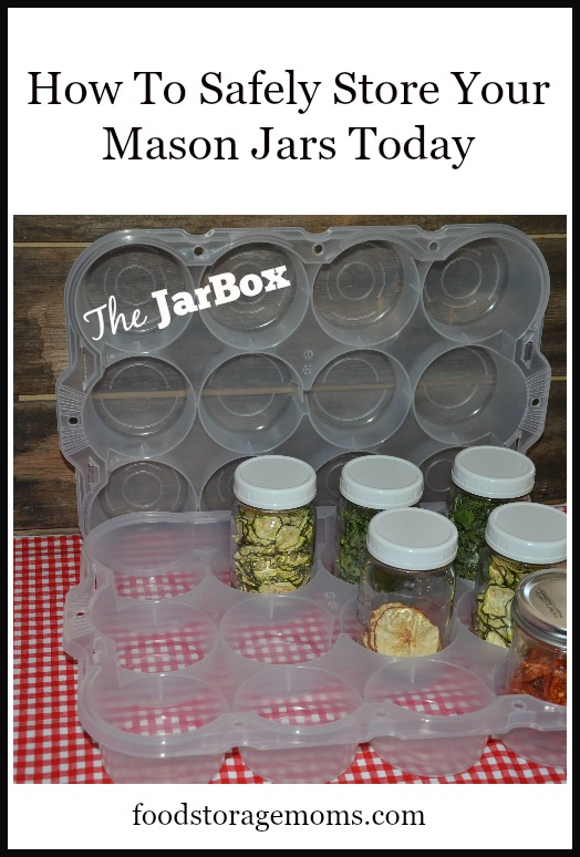 How To Safely Store Your Mason Jars Today | By FoodStorageMoms.com