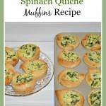 Easy Homemade Spinach Quiche Muffins Recipe
