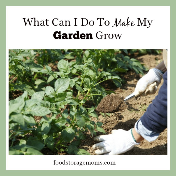 What Can I Do To Make My Garden Grow | by FoodStorageMoms.com