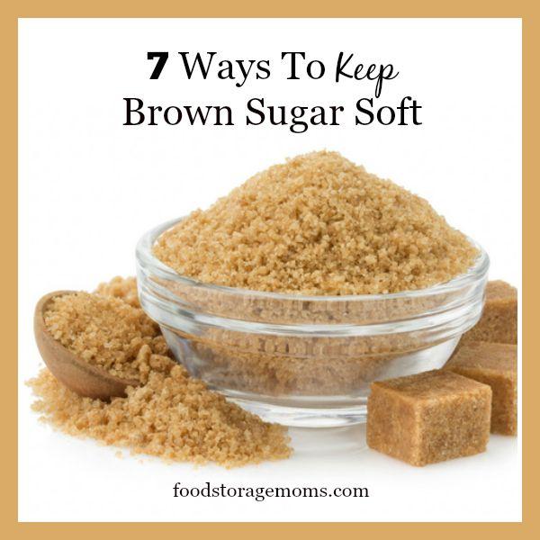 Home   Food Storage   7 Ways To Keep Brown Sugar Soft