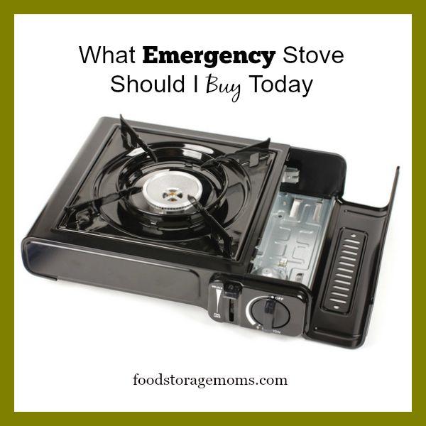 What Emergency Stove Should I Buy Today | By FoodStorageMoms.com