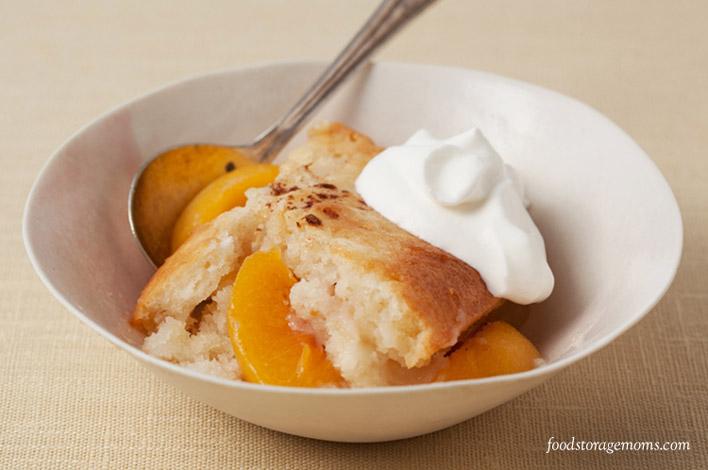 How To Make An Easy Peach Glaze | by FoodStorageMoms.com