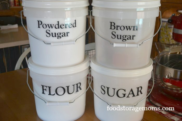food storage containers buckets
