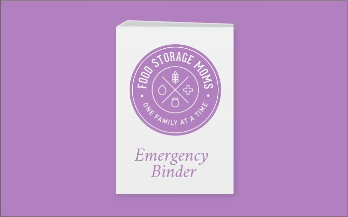emergency binder content